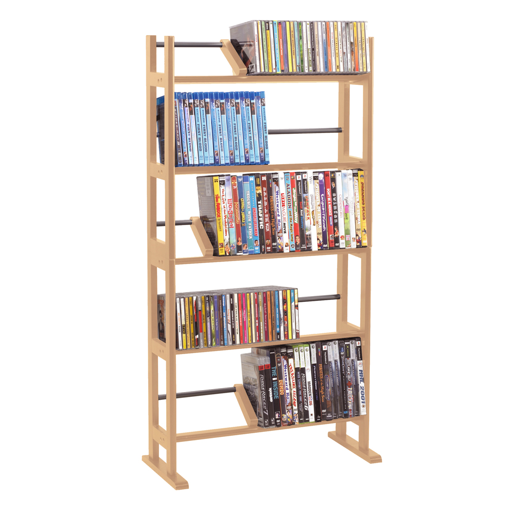 sc 1 st  CD Rack Shoppe & Element Media Rack In Maple