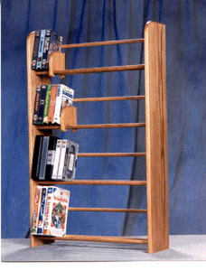 160 Dvd Dowel Storage Rack