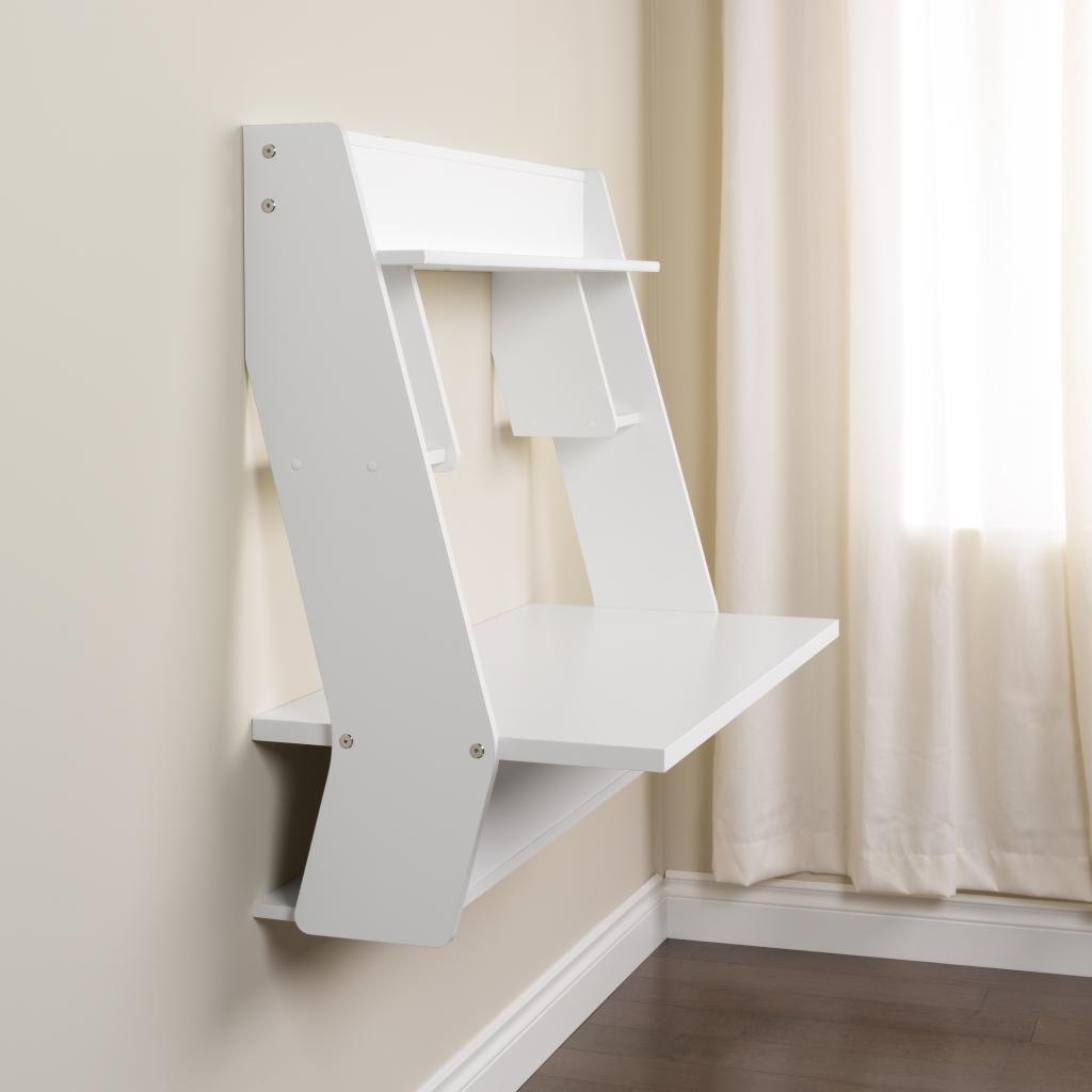 studio white floating desk prepac wehw 0900 1