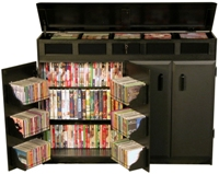 Media Cabinet Top Load Locking Racksncabinets