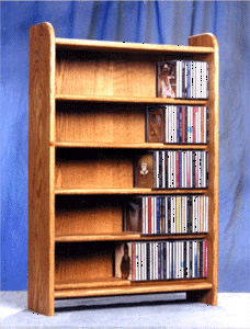 CD desk top/ floor storage rack capacity 275 CD's