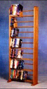 280 DVD dowel storage rack, item 705