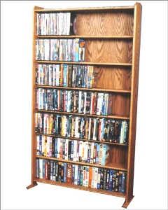 VHS/ DVD storage rack