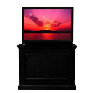 Elevate Black TV Lift Cabinet