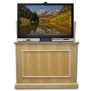 Elevate Unfinished TV Lift Cabinet