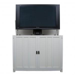 Elevate Mission Oak - White TV Lift Cabinet