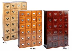 Cd Library Style Cabinet - 288