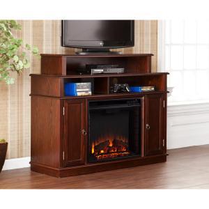 Lynden Media Fireplace - Espresso