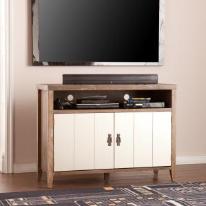 Heyburn Glam Industrial TV/Media Stand